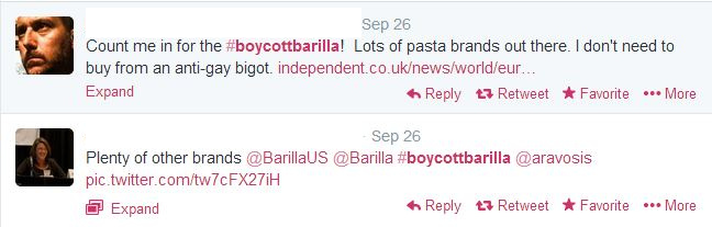 The enormous power of the consumer Barilla case