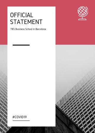 BCN TBS Official statement