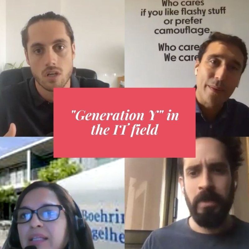 Generation Y in teh IT field webinar