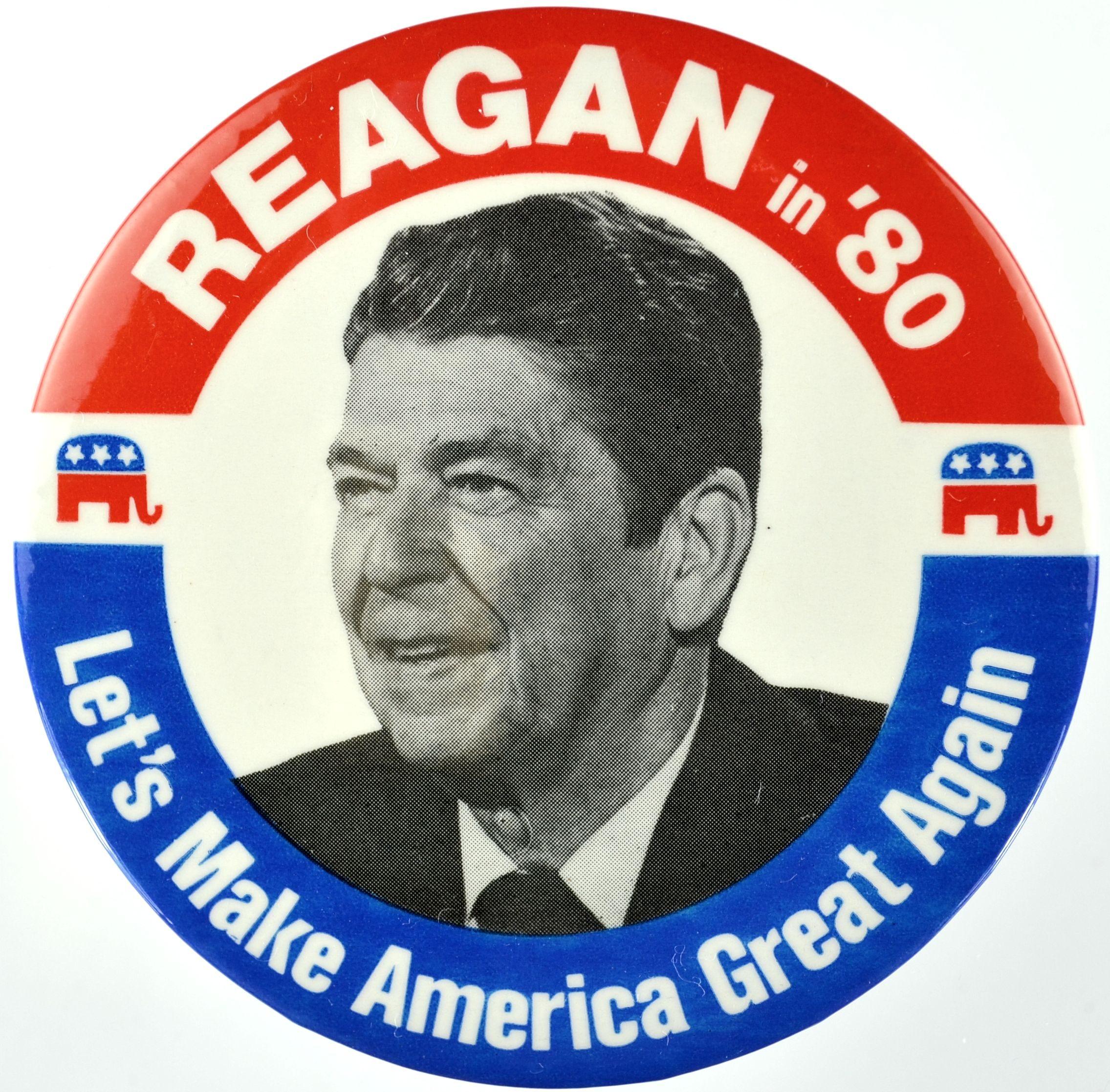 reagan pin make american great again