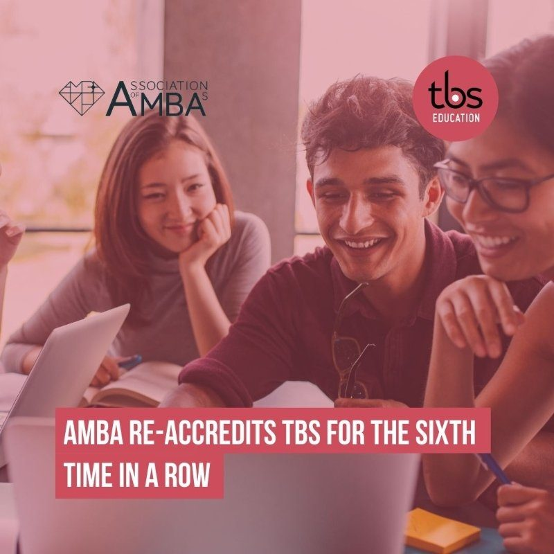 AMBA reaccredits tbs